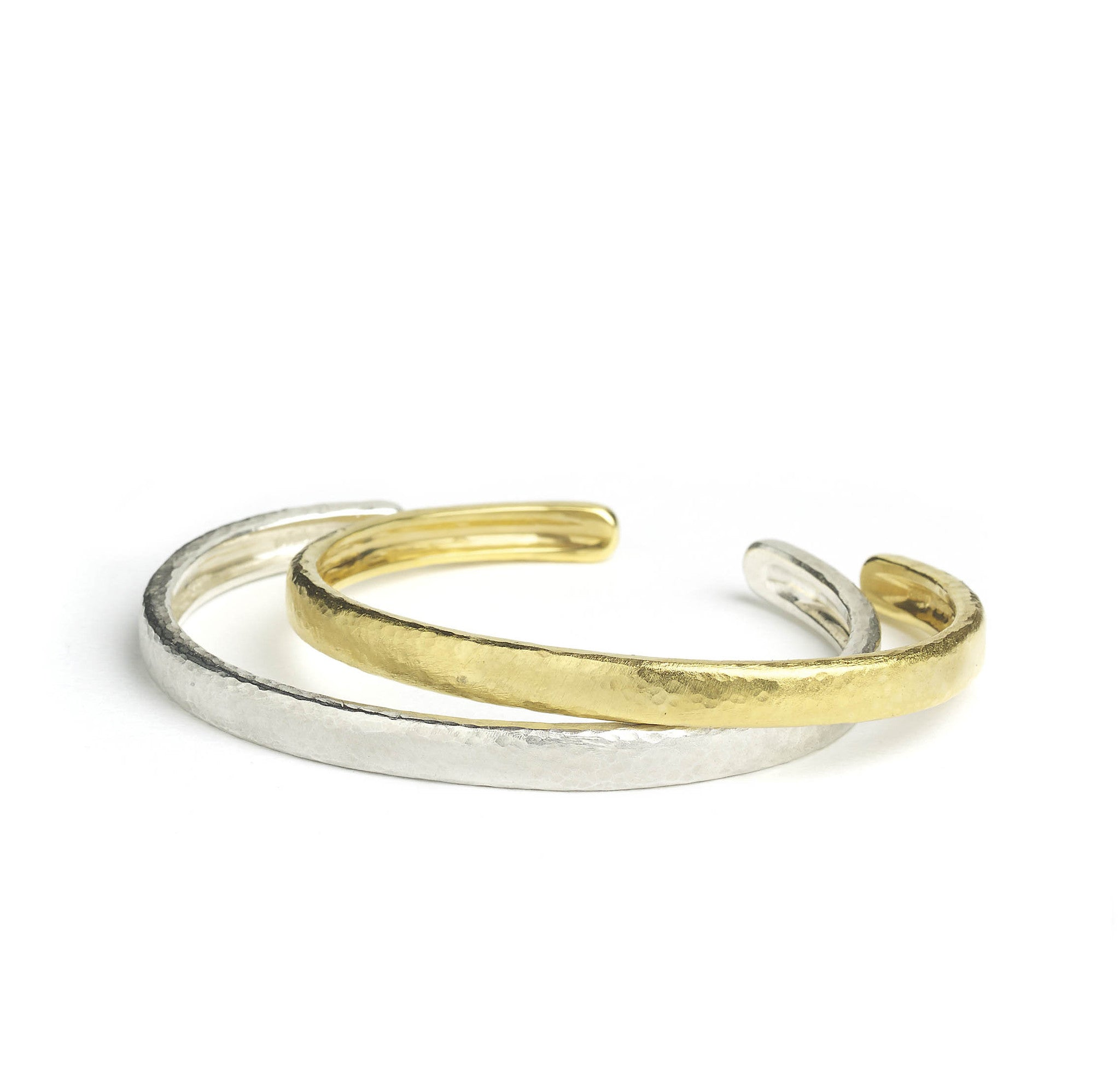 Silver & Gold Micro-plated Bangle