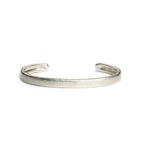 Silver Bangle Set With Five Stones