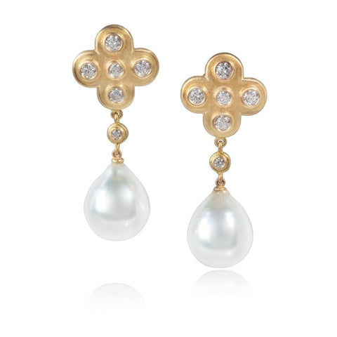 Diamond and Pearl Byzantine Drops