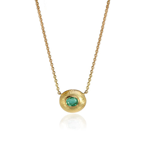 Paraiba Tourmaline Wave Necklace