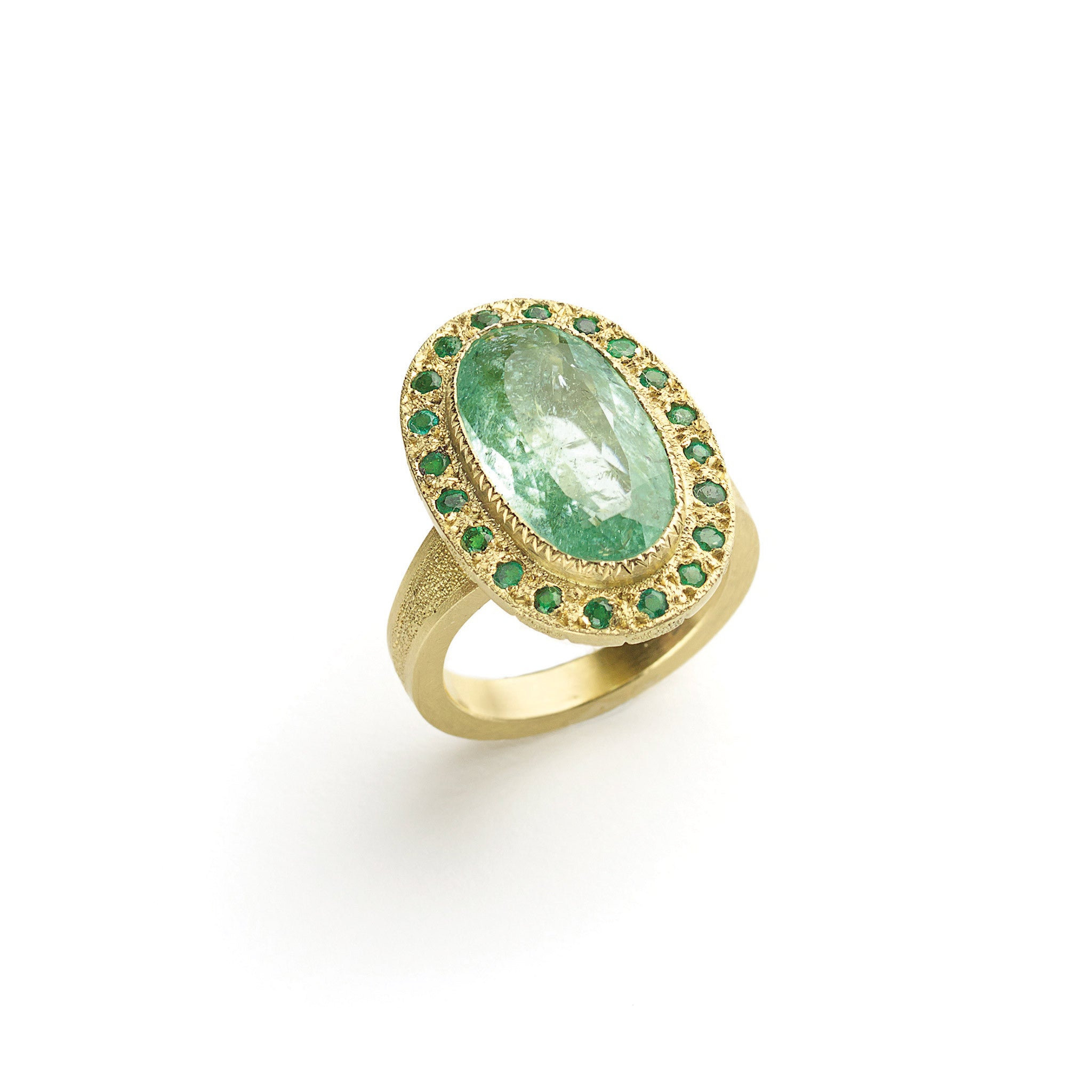 tourmaline with green rings tw gold in maine ring white diamonds