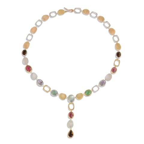 Pebble Paraiba Tourmaline Necklace