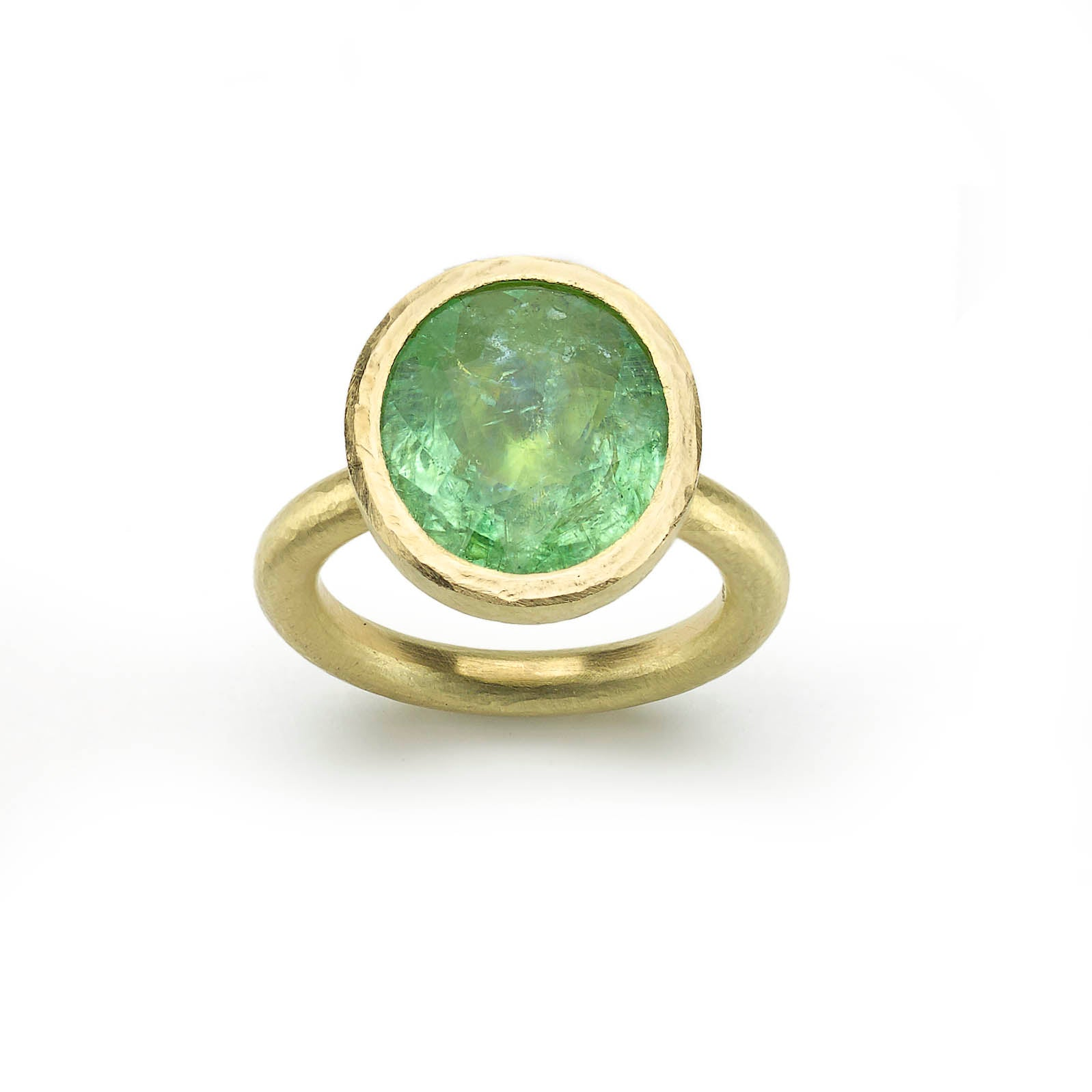 Mint Green Paraiba Tourmaline Ring