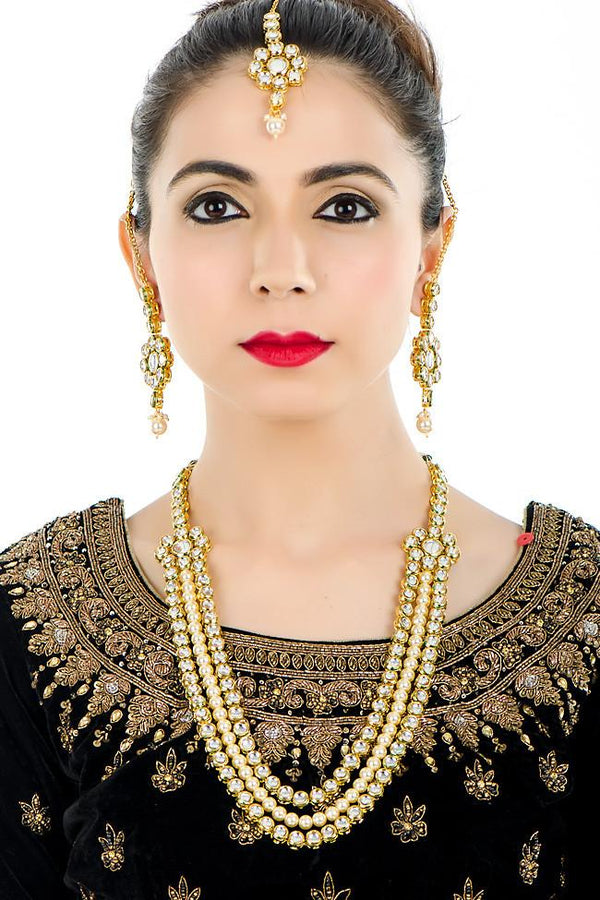 Indi Fashion Mariam Necklace Set