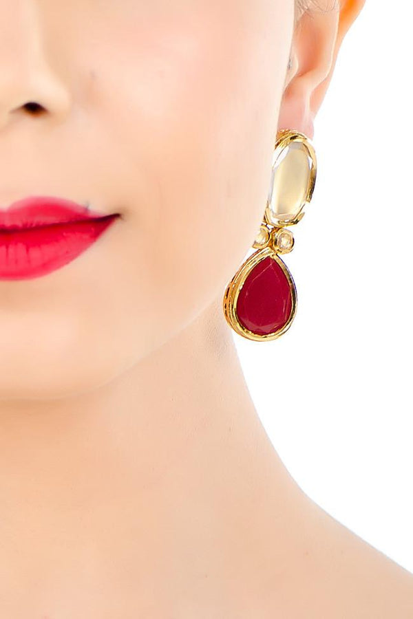 Indi Fashion Sareen Danglers