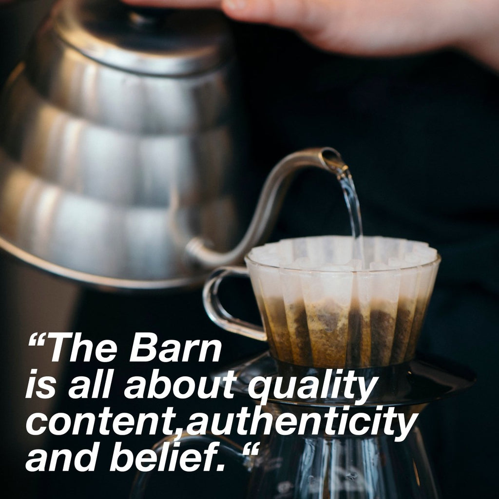 Iterview with Ralf Ruller founder of The Barn | Bean Bros.