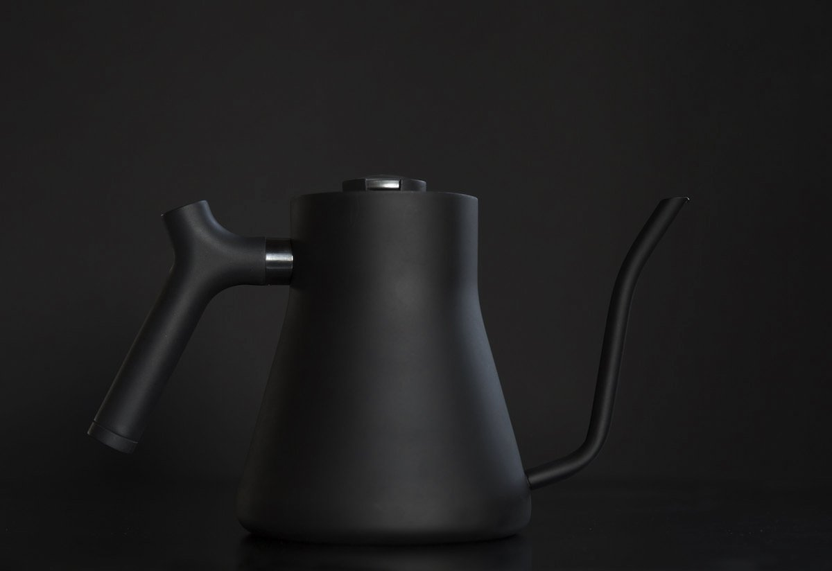 Stagg Pour-Over Kettle, Matte Black - Bean Bros.