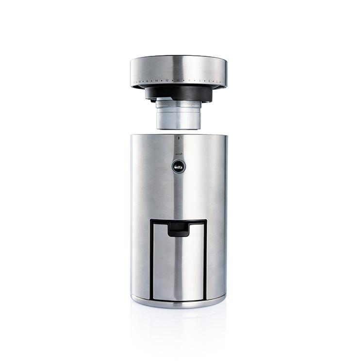 Wilfa Uniform Coffee Grinder - Silver without Scale - Bean Bros.