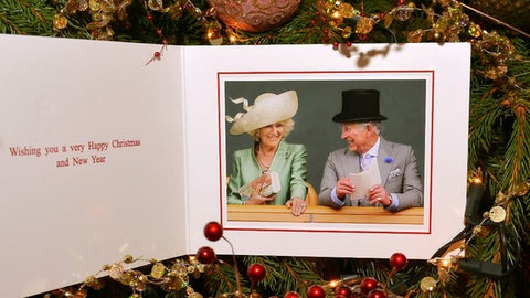 Charles and Camilla Christmas Card