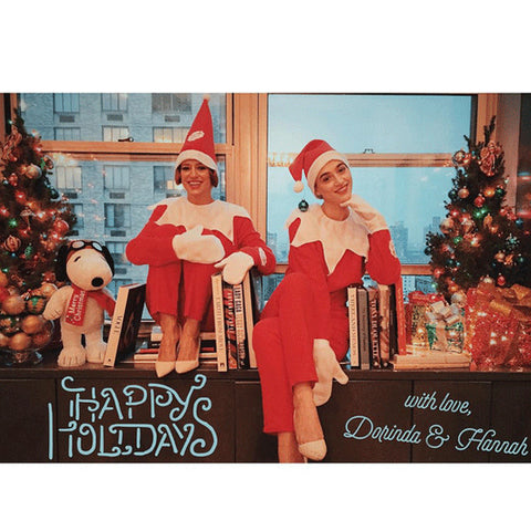 Dorinda and Hannah Christmas Card
