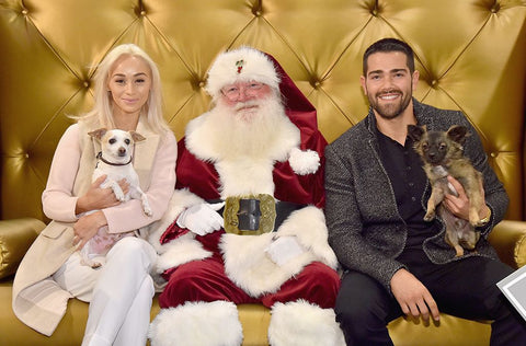 Jesse Metcalfe and Cara Santana Christmas Card