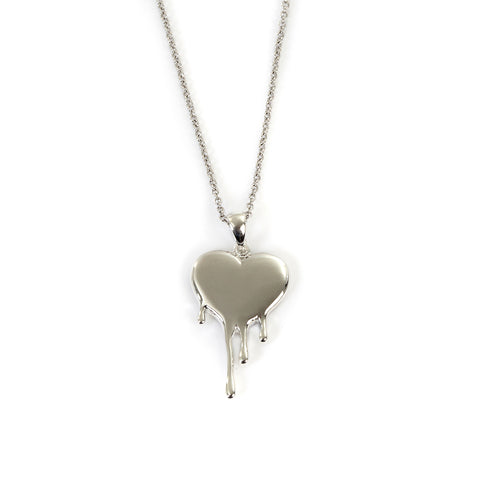 Goldlust LDN Heart Necklace in 925 Sterling Silver