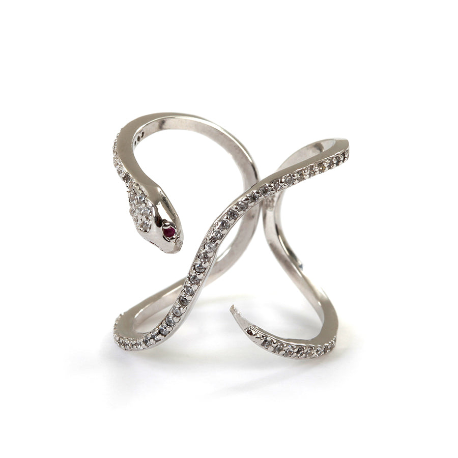 Goldlust LDN Snake Ring in 925 Sterling Silver