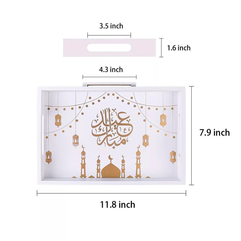 Ramadan Eid serving tray decoration