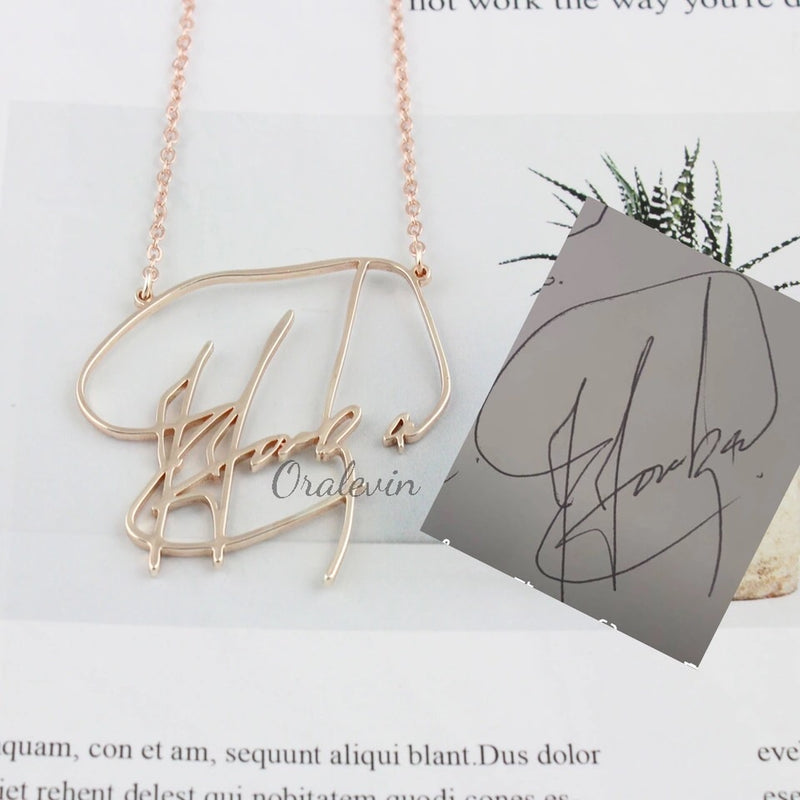 Hand written pendants customize and make it your own!