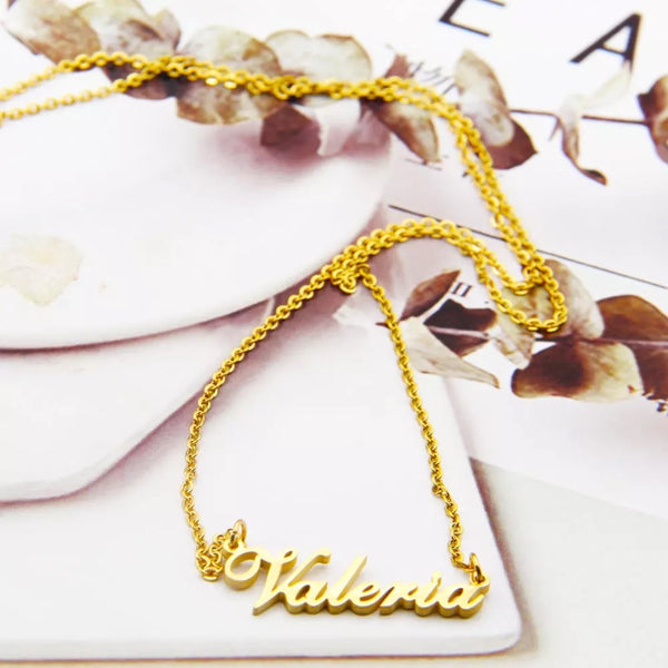 Customized Name Necklace in Any language.