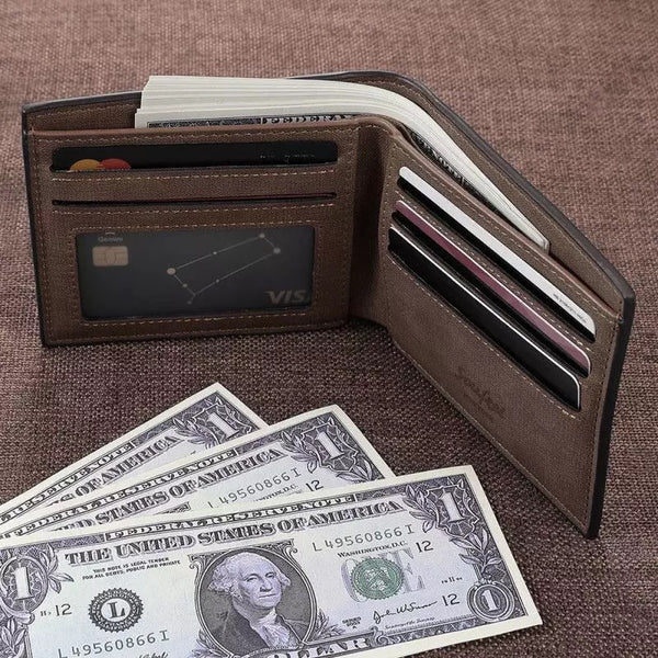 Custom engraved wallet