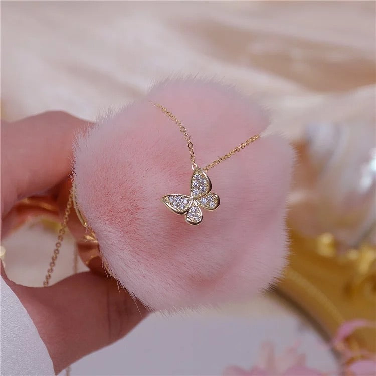 Beautiful free butterfly cubic zirconia