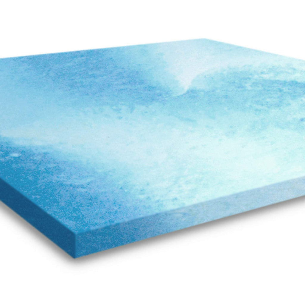 2 Inch Queen Size Gel Memory Foam Mattress Topper