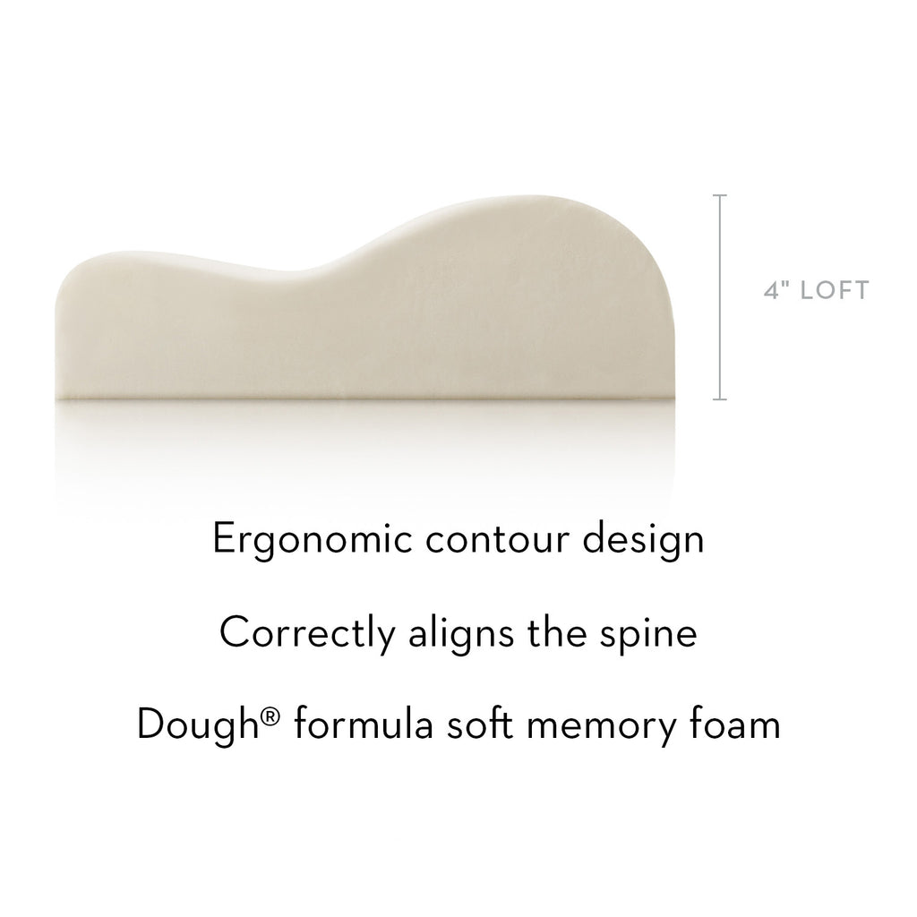 Contour Dough Memory Foam Pillow