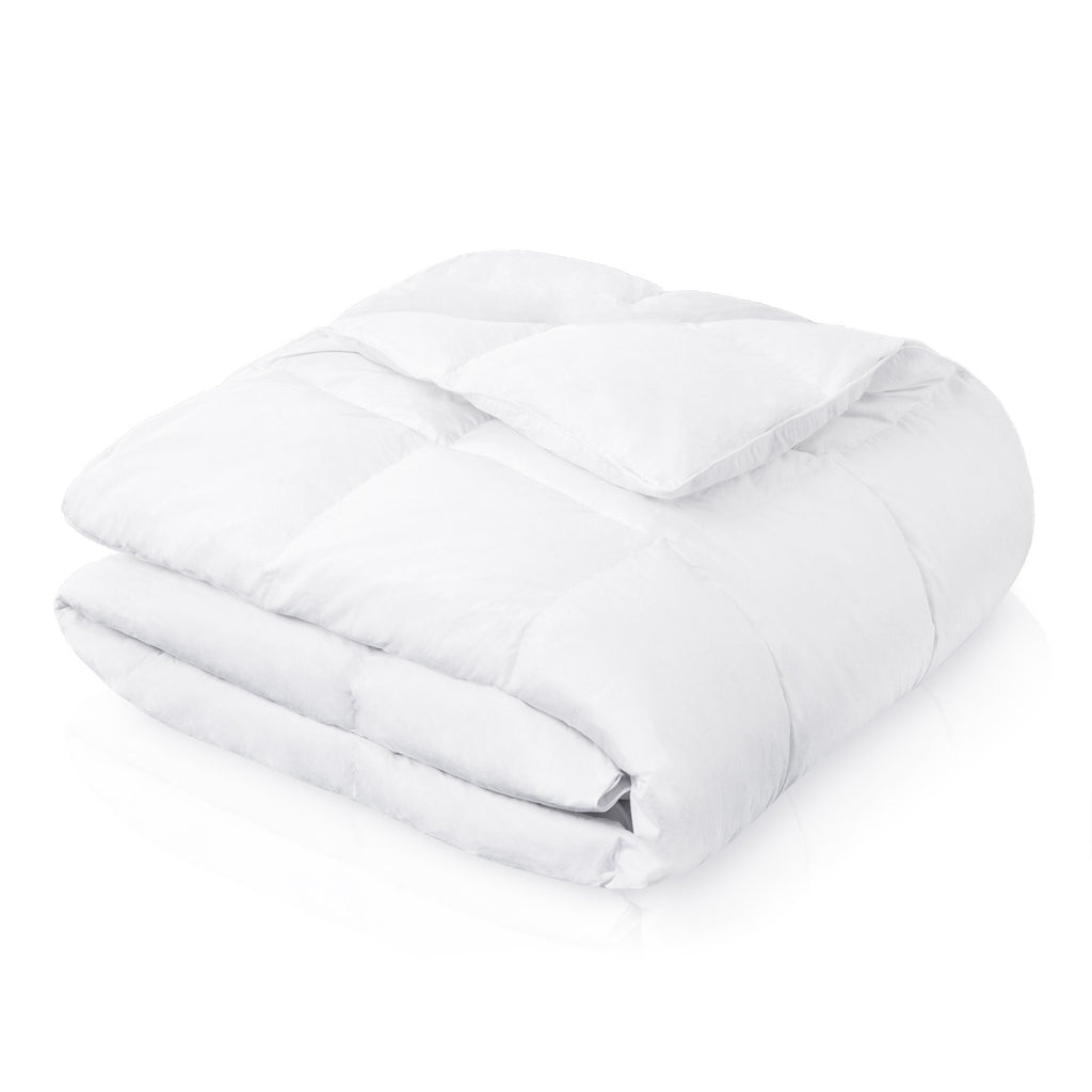 WOVEN White Down and Feather Blend Comforter