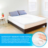 Memory Foam Mattress Topper - 3 Inch