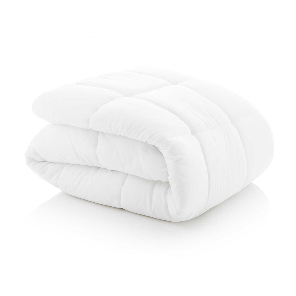 WOVEN White Down Alternative Microfiber Comforter