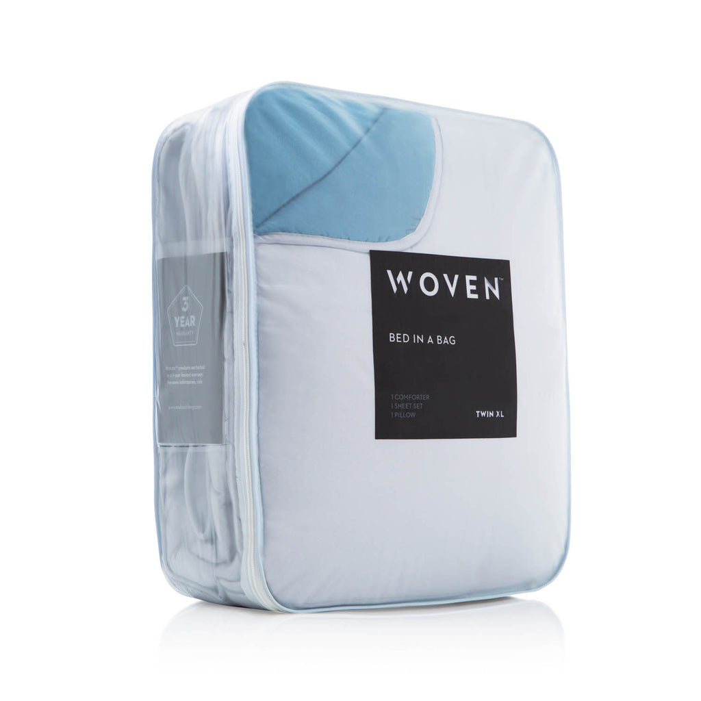 Woven Reversible Bed in a Bag
