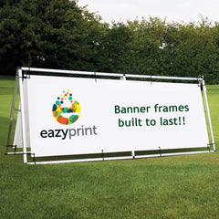 1.25m x 3m Outdoor Banner Frame - Outdoor Banner Stand - UK Banner Printing - 2