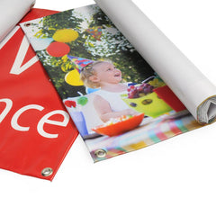 4ft x 8ft Outdoor PVC Banner - Outdoor PVC Banner - UK Banner Printing - 6