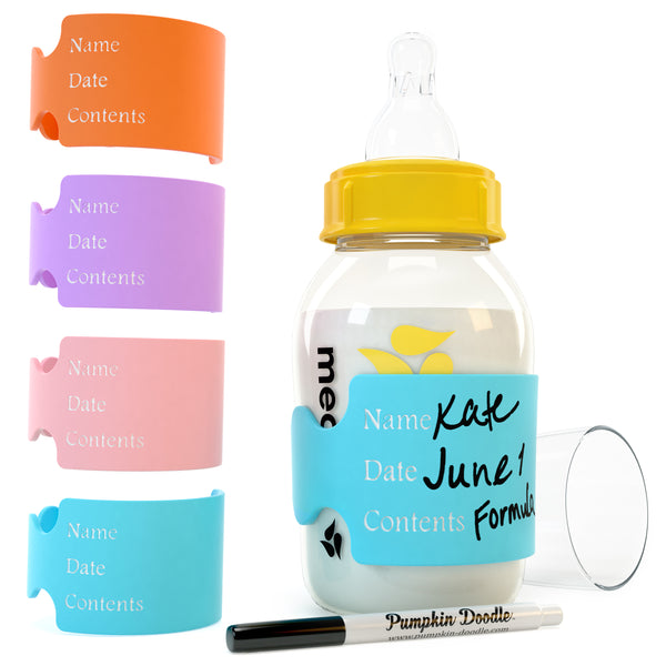 Multi Pack - Write & Erase - Baby Bottle Labels