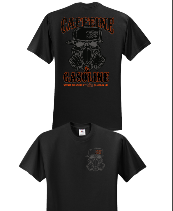 *NEW* Caffeine & Gasoline T-Shirt