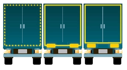 HGV Rear Conspicuity Markings