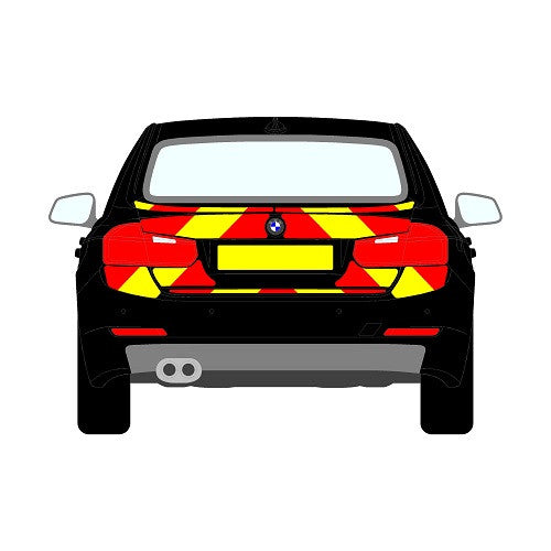 BMW 3 Series F30 Mk5 Saloon Rear Chevrons (2012+)