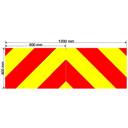 Custom Chevron 1200mm x 400mm