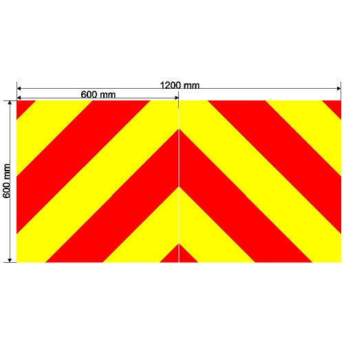 Custom Chevron 1200mm x 600mm