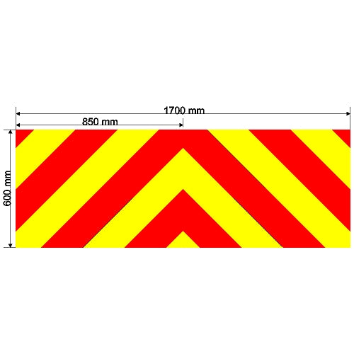 Custom Chevron 1700mm x 600mm