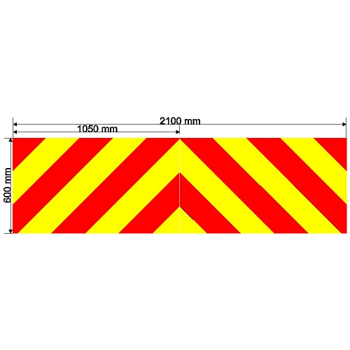Custom Chevron 2100mm x 600mm