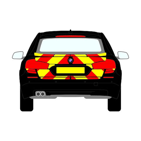 BMW 5 Series Mk6 (F11) Estate Rear Chevrons (2010+)