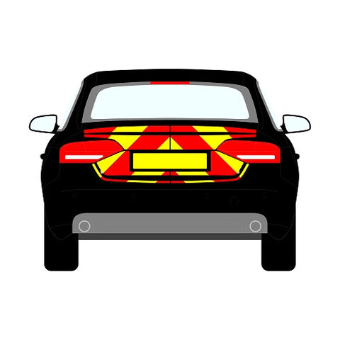 Audi A4 B6 Saloon Rear Chevrons (2000-2006)