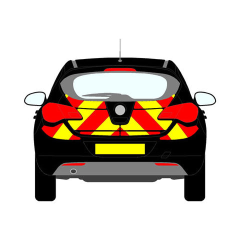Vauxhall Astra J Hatch 2009-present chapter 8 chevron kit