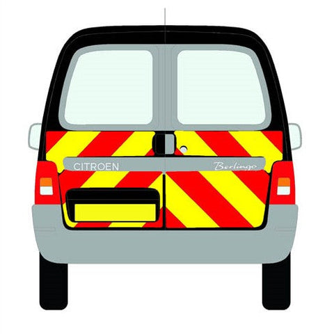 Citroen Berlingo Mk1 All Roofs Half Chevrons (2003-2008)