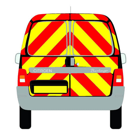 Citroen Berlingo Mk1 Standard Roof 2003-2008 chapter8 chevron kit
