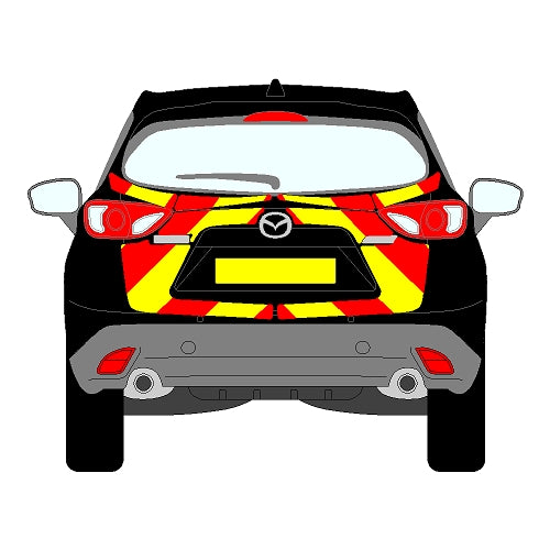 Mazda CX5 4 x 4 Mk5 Rear Chevrons (2015-2017)