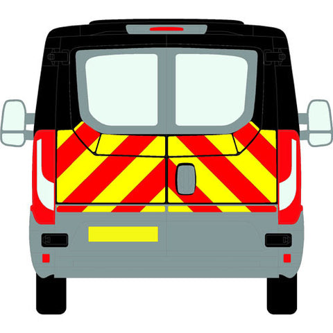 Iveco Daily Mk6 Standard Roof H1 2014-present chapter 8 chevron kit