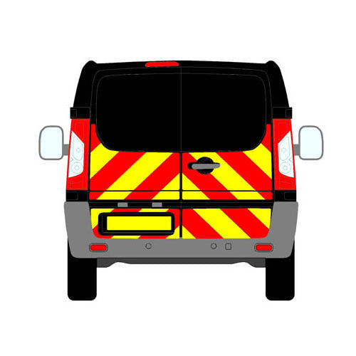 Citroen Dispatch Mk2 All Roofs Swing Doors 2007-2016 chapter8 chevron kit