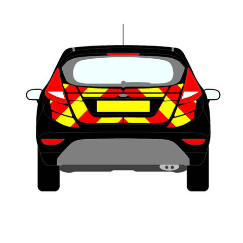 Ford Fiesta Mk7 Hatchback 2008-present chapter8 chevron kit