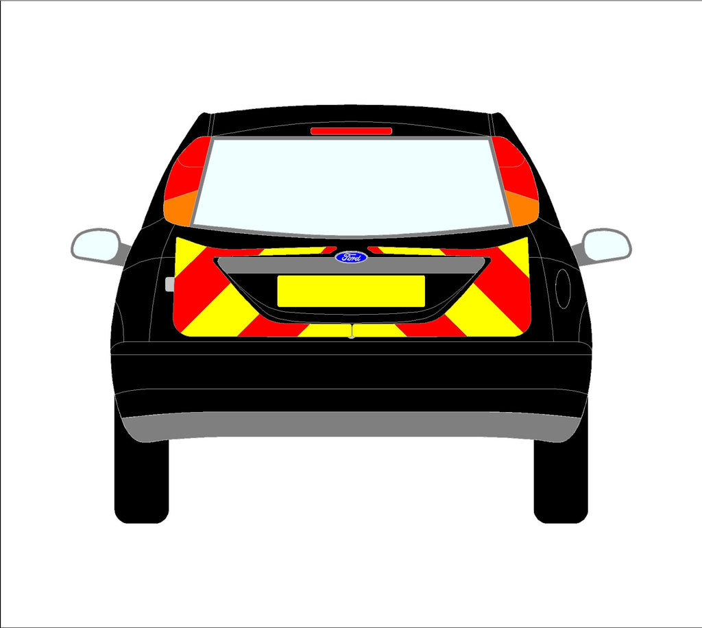 Ford Focus Mk1 Hatchback 1998-2008 chapter8 chevron kit