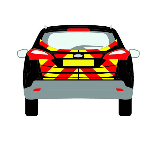 Ford Focus Mk3 Estate 2011-present chapter8 chevron kit
