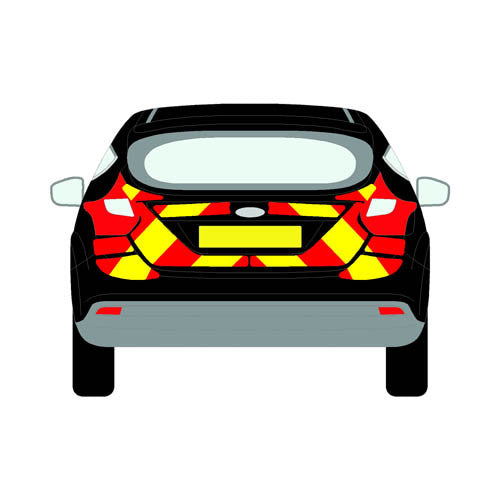 Ford Focus Mk3 Hatchback 2011-present chapter8 chevron kit